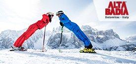 Skifahren und Dolce Vita